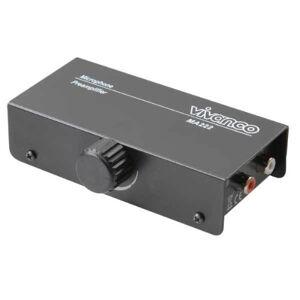 Vivanco MA225 Préamplificateur pour microphone Adaptateur secteur inclus (Import Allemagne) - Publicité