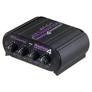 ART Headamp Amplificateur de casque 4 sorties - Publicité