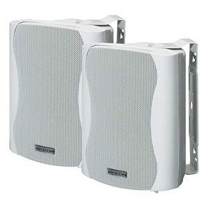 JB Systems K30 Paire de Mini Enceintes Blanc - Publicité