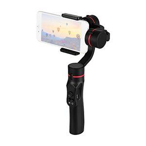 Andoer Smartphone stabilisateur de cardan 3 Axes, déclenchement Vertical Modes bloqués/Moyen Suivi Complet Batterie au Lithium intégrée pour téléphones intelligents - Publicité