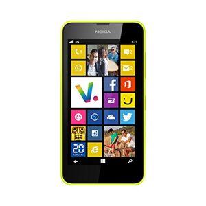 Nokia Lumia 635 Smartphone débloqué 4G (Ecran: 4.5 pouces 8 Go Simple Micro SIM Windows Phone 8.1 512 Mo RAM) Jaune - Publicité