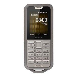 Nokia 800 Tough Portable débloqué 4G (2,4 Pouces 4Go Stockage Double Sim KaiOS V2.5) Sable - Publicité