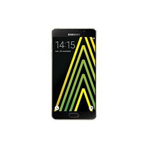Samsung Galaxy A5 2016 Smartphone débloqué 4G (Ecran: 5,2 pouces 16 Go Simple Nano-SIM Android 5.1 Lollipop) Or - Publicité