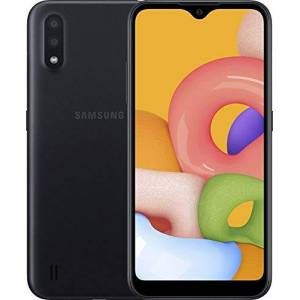 Samsung Galaxy A01 Dual SIM 16GB 2GB RAM SM-A015F/DS Black - Publicité