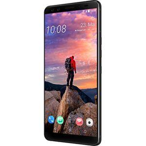 HTC U12 + Smartphone (Super écran LCD de 15,24 cm (6 Zoll), Mémoire vive de 64 Go et 6 Go de RAM, Filtre IP68, Double carte SIM, Android 8.0), Noir céramique(Ceramic Black) - Publicité