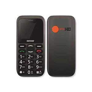 """Denver Téléphone portable pour personnes âgées  BAS-18300M 1,77"""" Bluetooth - Publicité"""