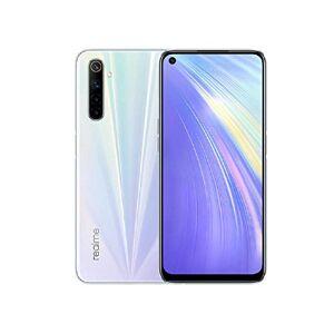 realme 6 Smartphone Portable débloquée (128 Go/4 Go Ram Double Sim) Comet White - Publicité