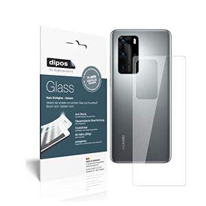 dipos I 2x Protection ecrán compatible avec Huawei P40 Pro arrire Verre souple Film Protecteur 9H - Publicité