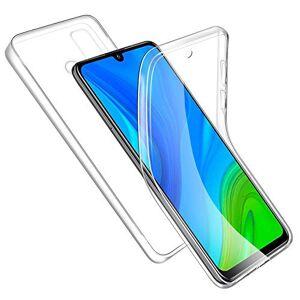 E-Lush EU Coque Huawei P Smart 2020 Etui Transparent Silicone Gel TPU + PC Case Cover, E-Lush Housse Ultra Fine 360 Degrés Full Body Protection Anti Choc Anti-Rayures Coque pour Huawei P Smart 2020 - Publicité