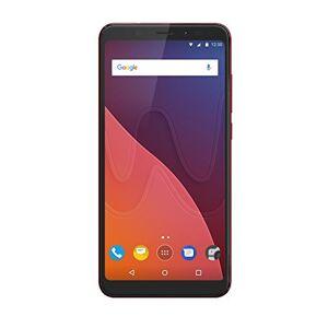 Wiko VIEW 16GB+3GB Smartphone portable débloqué 4G (Ecran: 5,7 pouces 16 Go Double Micro-SIM Android) Rouge - Publicité