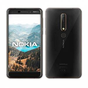 Nokia 6.1Black [Import Europe] - Publicité