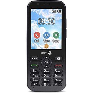 Doro 7010 Téléphone Portable 4G Dual SIM Débloqué pour Seniors Facile  Utiliser avec GPS, Facebook et Whatsapp pour Appels Vidéo (Noir) [Version Franaise] - Publicité