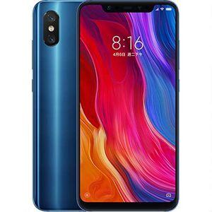 Xiaomi Mi 8 Smartphone débloqué LTE (Ecran : 6.21 Pouces 128 Go Nano-SIM Android 8.0 Oreo) Bleu - Publicité