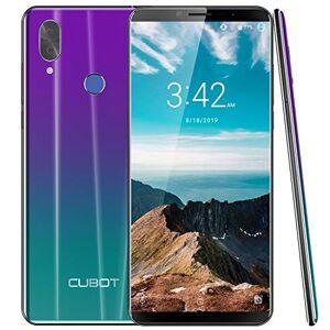 """CUBOT X19 Smartphone 4G Dual SIM, Télephone Portable débloqué FHD 5,93"""" (18:9) 4000mAh Android 9.0, 4Go-64Go (Extensible  128Go) Double Camera 16MP+2MP/ 8MP Identité - Publicité"""