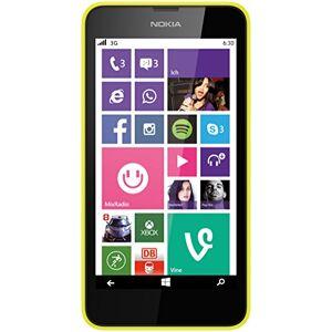 """Nokia Smartphone  Lumia 630 Dual SIM (11,4cm (4,5"""")) avec écran Tactile, Appareil Photo 5mpx, vidéo HD-Ready, Snapdragon400, Quad-Core 1,2gHz, Windows Phone 8.1 - Publicité"""