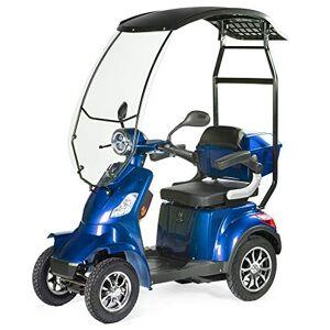 VELECO Scooter lectrique 4 Roues Pour Senior/Handicapés 1000W FASTER (Bleu avec un toit) - Publicité