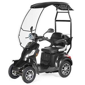 VELECO Scooter lectrique 4 Roues Pour Senior/Handicapés 1000W FASTER (Noir avec un toit) - Publicité