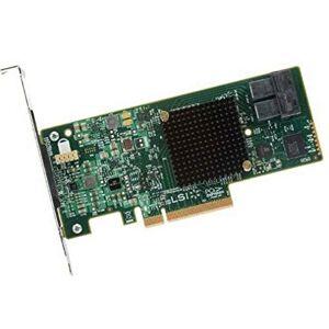 Broadcom MegaRAID SAS 9341-8i PCI Express x8 3.0 12Gbit/s contrleur Raid Contrleurs Raid (SAS, SATA, PCI Express x8, Hauteur Totale (Profil Bas), 0, 1, 5, 10, 50, JBOD, 12 Gbit/s, 2800000 h) - Publicité