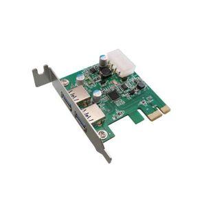 """KALEA INFORMATIQUE KALEA-INFORMATIQUE  Carte Controleur PCI EXPRESS // LOW PROFILE // USB 3.0 2 ports USB3.0 """"SUPERSPEED"""" CHIPSET NEC - Publicité"""