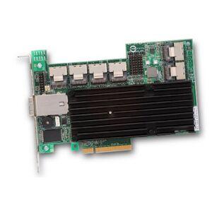 LSI MegaRAID 9280-24i4E Contrleur de mémoire 24 Ports internes 4 Ports externes SAS/SATA 8 x PCI-e 2.0 - Publicité