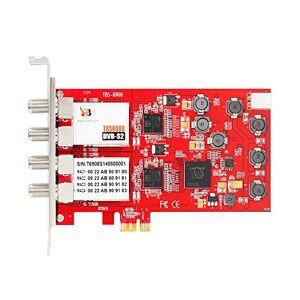 Inconnu TBS6908 Carte Professionnelle PCIe Tuner TV Quad Tuner DVB-S/S2 4 Tuner pour télé satellite - Publicité