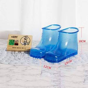 YQ WHJB Bain De Pieds Chaussures,massage Plastique Spa Chaussures,portable Seau De Pied, Bottes Pédicure Detox Trempage Bain De Pieds Bassin-d - Publicité
