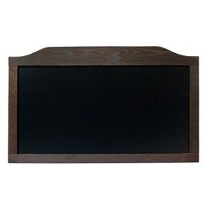 DWA Tableau Noir Menu pour Pub Restaurant Horizontal Cadre en Bois H+ - Publicité