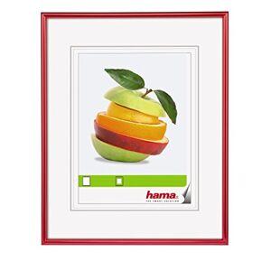"""Hama Cadre photo en plastique """"Sevilla"""" (taille du Cadre de 40 x 50 cm avec bordure de 13 mm x 20 mm, pour une photo de 40 x 50 cm) Rouge - Publicité"""