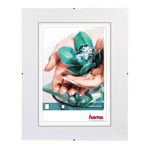 """Hama Cadre photo """"Clip-Fixe"""" (sans bordure, 24 x 30 cm, Reflex) Blanc - Publicité"""