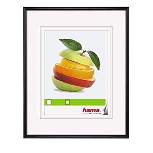 """Hama Cadre photo en plastique """"Sevilla"""" (taille du Cadre de 40 x 50 cm avec bordure de 13 mm x 20 mm, pour une photo de 40 x 50 cm) Noir - Publicité"""