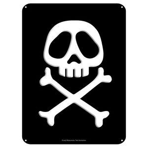 ABYstyle ALBATOR Plaque métal Emblme (28x38) - Publicité