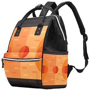 LORVIES Basket Court Court Nappy Changing Bag Diaper Sac à dos avec poches isolées, sangles de poussette, grande capacité multifonctionnel élégant sac à couches pour maman papa en plein air - Publicité