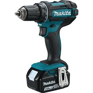 Makita DDF482RFJ Cordless Drill Driver 18 V, 54 W, 18 V, Noir/Bleu - Publicité