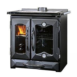 LA NORDICA Mamy cuisiniere a bois couleur : noir vitrifie - Publicité