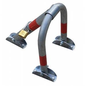 SNS SAFETY LTD PB-3LS Barriere de parking pliante avec cadenas 30cm x 40cm - Publicité