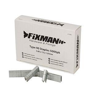 FIXMAN 471953 5 000 agrafes type 90 5,85 x 13 x 1,25 mm - Publicité