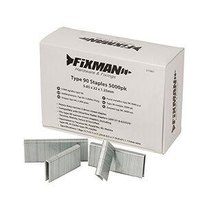 FIXMAN 312861 5 000 agrafes type 90 5,85 x 22 x 1,25 mm - Publicité