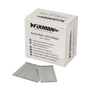 FIXMAN 807375 2 500 clous de finition calibre 16 50 x 1,55 mm - Publicité