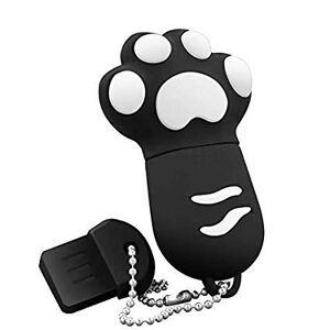 Shuda 2 Go / 4 Go / 8 Go / 16 Go / 32 Go / 128MB Portable USB Mini Noir Griffe de Chat en Forme mémoire Flash Drive créative Clé USB 2.0 (Black Friday Deals)-128MB - Publicité
