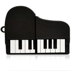 818-tech No33200030008 Clé USB 8GO FLASH DRIVE DRLE FIGURE INSTRUMENTS DE MUSIQUE PIANO NOIR - Publicité