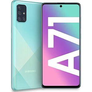 """Samsung Galaxy A71 Smartphone Portable Débloqué (cran : 6,7"""" 6 Go/128 Go Double SIM Android 9.0) Bleu - Publicité"""
