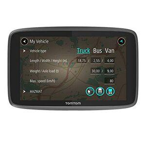 TomTom Go Professional GPS 15,24cm (6pouces), cartes  vie (Europe), 1an caméras de trafic et de radar, mains libres, support  fixation rapide Noir - Publicité