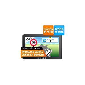 Snooper CC 5400 GPS Eléments Dédiés  la Navigation Embarquée Europe Fixe, 16:9 - Publicité