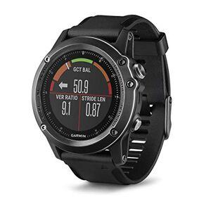 Garmin Fnix 3 Sapphire Gray HR Montre GPS Multisports Outdoor Cardio Poignet Bracelet Noir - Publicité