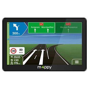 Mappy GPS Maxi X755 TRUCK (cran : 7 Pouces 44 pays Mise  jour gratuite jusqu' 4 fois par an) Noir - Publicité