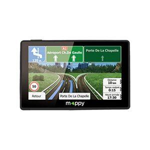 Mappy GPS Ulti X585 (cran : 5 Pouces 44 pays Mise  jour gratuite jusqu' 4 fois par an) Noir - Publicité