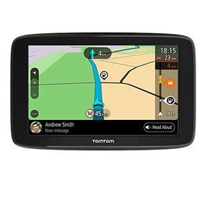 TomTom GPS Voiture GO Basic, 5 Pouces, Info Trafic, Essai des Alertes de Zones de Danger, Cartes UE, Mise  Jour via WiFi, Fixation Reversible Intégrée - Publicité