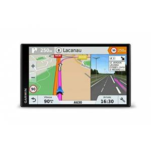Garmin DriveSmart 61 LMT-S GPS Auto 6,95 pouces Cartes Europe 46 pays Cartes, Trafic, Zones de Danger gratuits  vie - Publicité