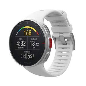 Polar Vantage V  Montre de Sport FC/GPS Premium pour Hommes et Femmes avec Batterie Trs Longue Durée  Entranement Multisport et Triathlon (Cardiofréquencemtre, étanche) - Publicité