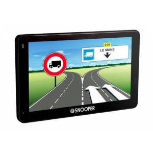 Snooper PL 5200 Truckmate GPS Eléments Dédiés  la Navigation Embarquée Europe Fixe, 16:9 - Publicité